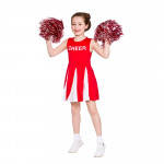 Childrens Cheerleader Red