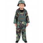 Childrens Army Boy