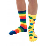 Big Top Odd Clown Socks