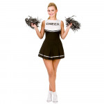 Adult Cheerleader Black