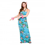 Adult Maxi Dress Orchid Ocean